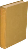 Books:Literature 1900-up, Anthony Powell. From a View to a Death. London: 1933. Firstedition, inscribed....