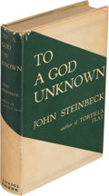 Books:Literature 1900-up, John Steinbeck. To a God Unknown. New York: [1933]. First edition, second issue....