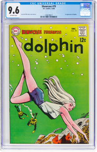 Showcase #79 Dolphin (DC, 1968) CGC NM+ 9.6 Off-white pages