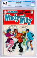 Silver Age (1956-1969):Humor, Showcase #81 Windy and Willy (DC, 1969) CGC NM/MT 9.8 Off-white to white pages....