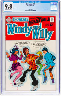 Showcase #81 Windy and Willy (DC, 1969) CGC NM/MT 9.8 Off-white to white pages