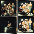 Music Memorabilia:Photos, The Mothers of Invention Four Original Color Negatives With Prints and Copyright/Exploitation Rights Assignment (Germany, 1968...