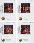 Music Memorabilia:Photos, Beatles Lot of 19 Sgt. Pepper's Lonely Hearts Club BandAlbum Cover Photo Session Outtakes Transparencies (UK, 196...