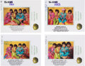 Music Memorabilia:Photos, Beatles Lot of 14 Sgt. Pepper's Lonely Hearts Club Band Album Inner Cover Photo Session Outtakes Transparencies (U...