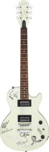 Music Memorabilia:Instruments, Epiphone Special Model Guitar Signed by 1997 Grammy Attendees WithGig Bag (1997)....