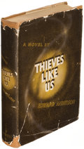 Books:Mystery & Detective Fiction, Edward Anderson. Thieves Like Us. New York: 1937. Firstedition....