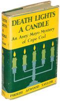 Books:Mystery & Detective Fiction, Phoebe Atwood Taylor. Death Lights a Candle. Indianapolis:1932. First edition....