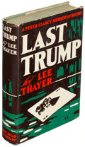 Books:Mystery & Detective Fiction, Lee Thayer. Group of Five Dodd, Mead and Co. Books. New York:[1937-1944]. First editions.... (Total: 5 Items)