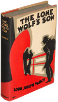 Books:Mystery & Detective Fiction, Louis Joseph Vance. Group of Four Lone Wolf Books. Philadelphia: [1931-1934]. First editions, one being an advance proof cop... (Total: 4 Items)