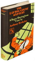 Books:Mystery & Detective Fiction, Anthony Berkeley. The Layton Court Mystery. Garden City: 1929. First edition....
