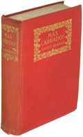 Books:Mystery & Detective Fiction, Ernest Bramah. Max Carrados. London: 1914. First edition....