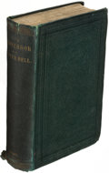 Books:Literature Pre-1900, [Charlotte Brontë]. The Professor. A Tale. By Currer Bell (pseudonym).London: 1857. First edition....
