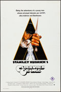 "Movie Posters:Science Fiction, A Clockwork Orange (Warner Brothers, 1971) Folded, Fine/Very Fine. International One Sheet (27"" X 41""). Philip Castle Artwor..."