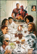 """Movie Posters:Action, Deadpool 2 (20th Century Fox, 2018) Rolled, Very Fine-. One Sheet (27"""" X 40"""") DS, Style A, Teaser. Steve Chorney Artwork. Ac..."""