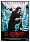 "Movie Posters:Action, The Crow (Mediaset, 1994) Folded, Fine/Very Fine. Italian 2 - Fogli (39.25"" X 55""). Action...."