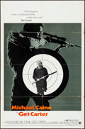 """Movie Posters:Crime, Get Carter & Other Lot (MGM, 1971). Folded, Fine+. One Sheets (2) (27"""" X 41""""). Crime.. ... (Total: 2 Items)"""