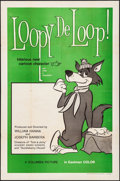 "Movie Posters:Animation, Loopy De Loop (Columbia, 1960) Folded, Very Fine-. One Sheet (27"" X41""). Animation...."