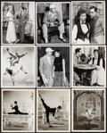 """Movie Posters:Musical, An American in Paris (MGM, 1951) Fine/Very Fine. Photos (14) & Behind the Scenes Photos (3) (Approx. 8"""" X 10""""). Musical.... (Total: 17 Items)"""