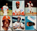 Autographs:Photos, Lou Brock Signed Photograph Lot of 10.... (Total: 10 items)