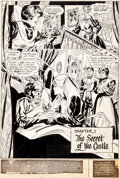 """Original Comic Art:Panel Pages, Don Heck The Sinister House of Secret Love #1 Near-Complete Story """"The Curse of the MacIntyres"""" Original Art Group..."""