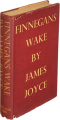 Books:Literature 1900-up, James Joyce. Finnegans Wake. London: 1939. First edition,trade issue....