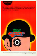 """Movie Posters:Science Fiction, A Clockwork Orange (Warner Brothers, 1971). Rolled, Very Fine. One Sheet (27"""" X 41"""") Alternate """"Announcing"""" R Style, David P..."""