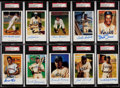 "Autographs:Post Cards, 1991 Ron Lewis ""Negro League"" Postcards Complete Set (30) Including 27 Signed Cards...."