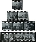 Music Memorabilia:Photos, Beatles Nine Original Black-and-White Negatives With Prints andCopyright/Exploitation Rights Assignment (Germany, 1966)....