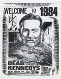 "Music Memorabilia:Posters, Dead Kennedys ""Welcome to 1984"" Starlite Ballroom Concert Poster(1983). ..."