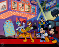 "Animation Art:Seriograph, ""Mickey's Film Festival"" Mickey Mouse and Friends Limited Edition Sericel (Walt Disney, 1999)...."