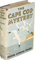 Books:Mystery & Detective Fiction, Phoebe Atwood Taylor. The Cape Cod Mystery. Indianapolis: The Bobbs-Merrill Company, 1931. First edition....
