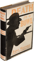 Books:Mystery & Detective Fiction, Raoul Whitfield. Death in a Bowl. New York: Alfred A. Knopf, 1931. First edition....