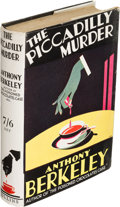 Books:Mystery & Detective Fiction, Anthony Berkeley. The Piccadilly Murder. London: W. Collins& Sons Co., 1929. First edition....