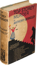 Books:Mystery & Detective Fiction, Anthony Berkeley. Top Storey Murder. London: Hodder andStoughton, [1931]. First edition....