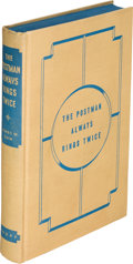Books:Mystery & Detective Fiction, James M. Cain. The Postman Always Rings Twice. New York: Alfred A. Knopf, 1934. Publisher's prospectus or salesm...