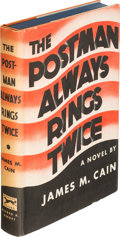 Books:Mystery & Detective Fiction, James M. Cain. The Postman Always Rings Twice. New York:Alfred A. Knopf, 1934. First edition, association copy, i...