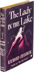 Books:Mystery & Detective Fiction, Raymond Chandler. The Lady in the Lake. London: HamishHamilton, 1944. First English edition....