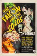 """Movie Posters:Mystery, The Falcon and the Co-eds (RKO, 1943) Folded, Very Fine-. One Sheet (27"""" X 41""""). Mystery...."""