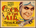 "Movie Posters:Comedy, Cock of the Air (United Artists, 1932) Fine/Very Fine. Title Lobby Card (11"" X 14""). Comedy...."