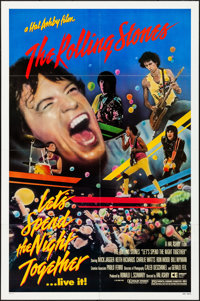 "Let's Spend the Night Together (Embassy, 1983) Folded, Very Fine. One Sheet (27"" X 41""). Rock and Roll"