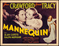 """Movie Posters:Drama, Mannequin (MGM, 1937) Fine/Very Fine. Title Lobby Card (11"""" X 14"""").Drama...."""
