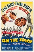 """Movie Posters:Musical, On the Town (MGM, 1949) Folded, Very Fine-. One Sheet (27"""" X 41""""). Musical...."""