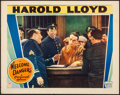 """Movie Posters:Comedy, Welcome Danger (Paramount, 1929) Very Fine-. Lobby Card (11"""" X 14""""). Comedy...."""