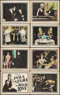 "Movie Posters:Drama, Mad Love (Goldwyn, 1921) Very Fine-. Lobby Card Set of 8 (11"" X14""). Drama.. ... (Total: 8 Items)"