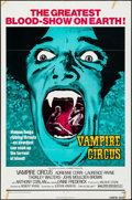 """Movie Posters:Horror, Vampire Circus & Other Lot (20th Century Fox, 1972) Folded, Fine/Very Fine. One Sheets (2) (27"""" X 41""""). Horror.... (Total: 2 Items)"""