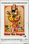 """Movie Posters:Action, Enter the Dragon & Other Lot (Warner Brothers, 1973) Folded, Overall: Fine+. One Sheets (2) (27"""" X 41""""). Bob Peak Artwork. A... (Total: 2 Items)"""