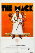 "Movie Posters:Blaxploitation, The Mack (Cinerama Releasing, 1973) Folded, Fine/Very Fine. One Sheet (27"" X 41"") & Mini Lobby Cards (3) (8"" X 10""). Fred Pf... (Total: 4 Items)"