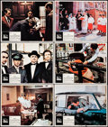 """Movie Posters:Crime, The Godfather (Paramount, 1972) Fine+. Lobby Cards (6) (11"""" X 14""""). S. Neil Fujita Artwork. Crime.... (Total: 6 Items)"""
