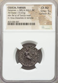 Ancients:Greek, Ancients: CILICIA. Tarsus. Datames (ca. 385/4-362/1 BC). AR stater (22mm, 10.47 gm, 11h). NGC Choice AU 5/5 - 4/5....