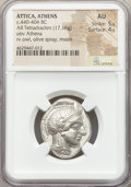 Ancients:Greek, Ancients: ATTICA. Athens. Ca. 440-404 BC. AR tetradrachm (24mm,17.16 gm, 10h). NGC AU 5/5 - 4/5....